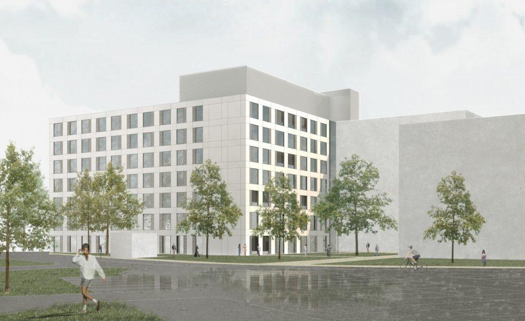 Klinikum Landshut, Nickl & Partner Architekten