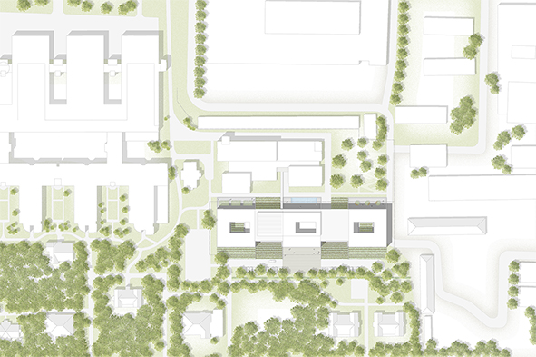 Nickl & Partner Architekten AG - Site Plan