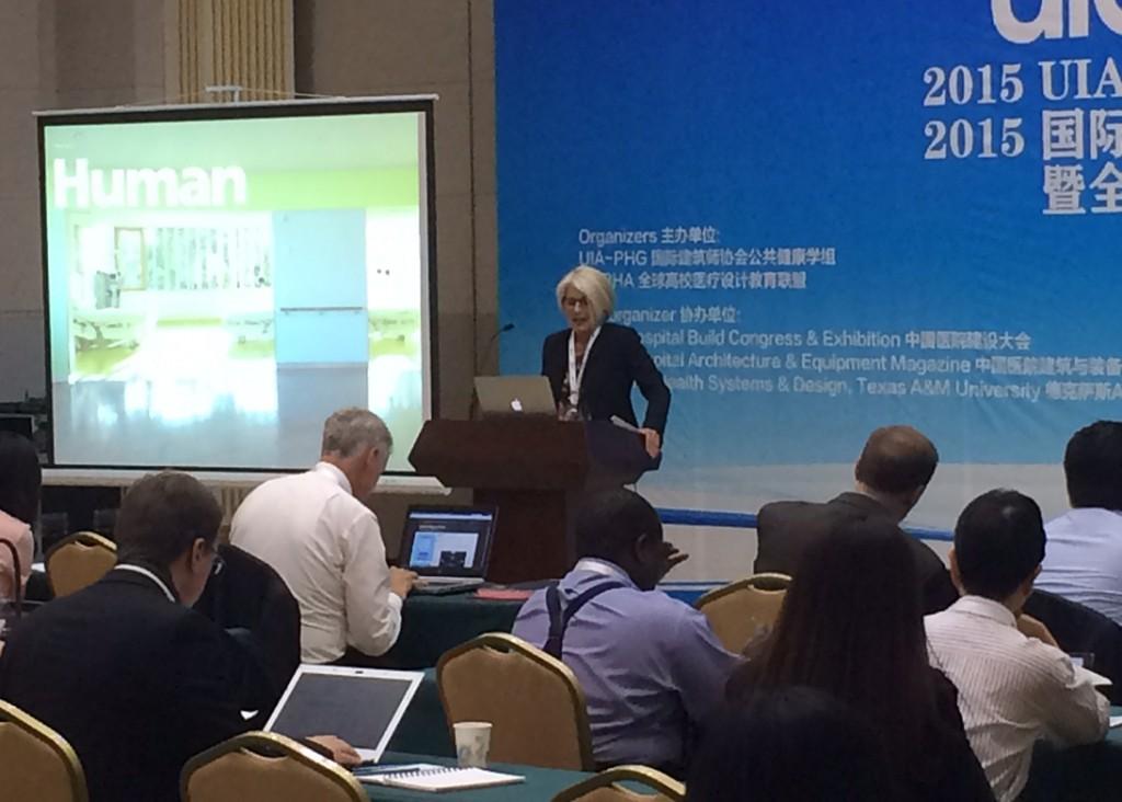 Vortrag Prof. Christine Nickl-Wellers während des UIA -PHG Seminars
