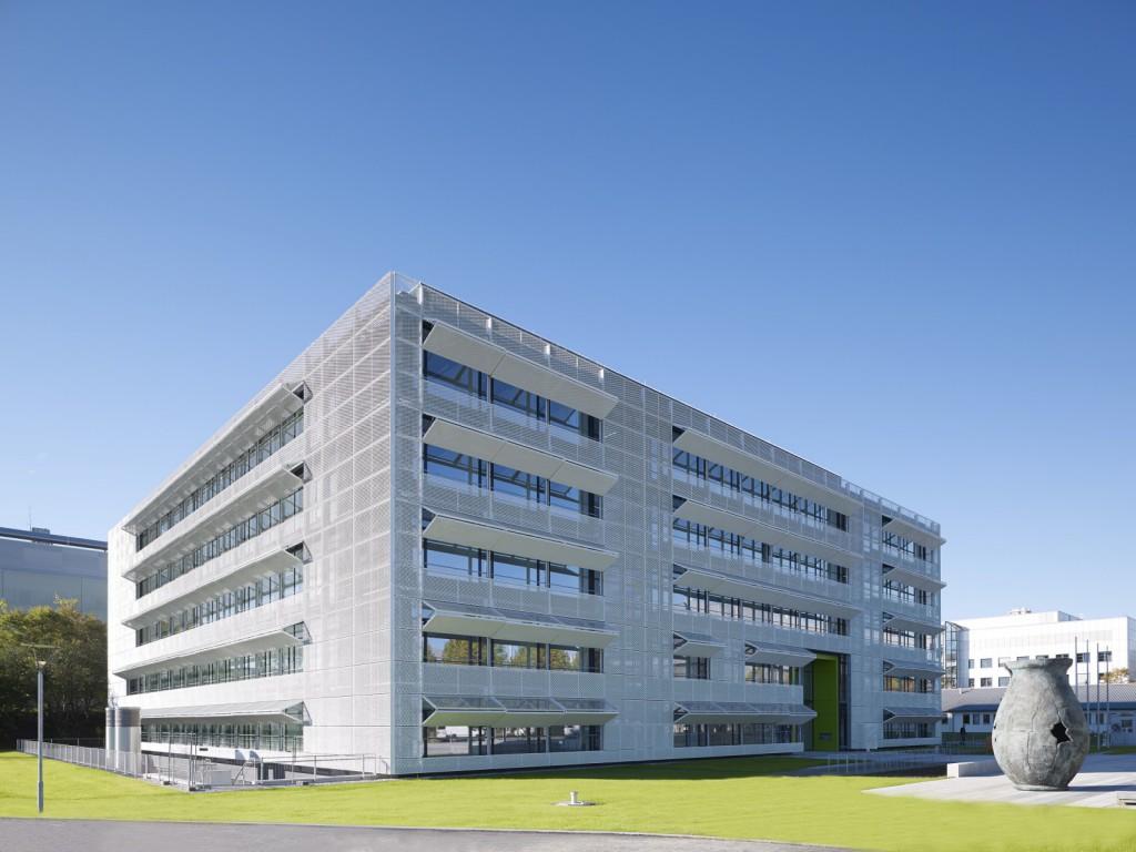 Nickl & Partner Architekten AG - Perspektive - Nickl & Partner Architekten AG - Eröffnung neues Centrum Schlaganfall- und Demenzforschung München