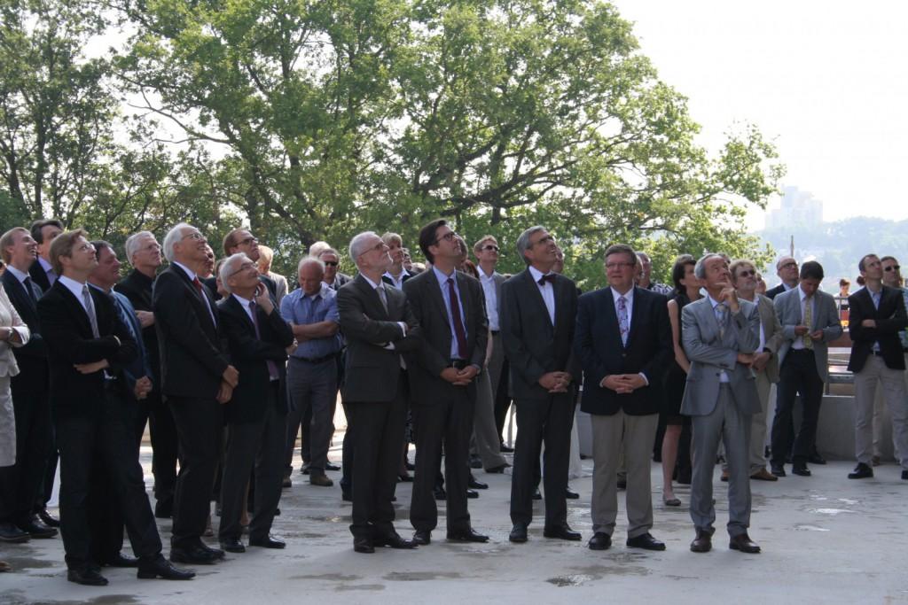 Nickl & Partner Architekten AG - Richtfest am 12. Juni 2015 - DZHI Würzburg