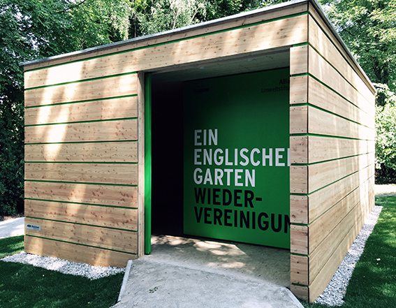 Info-Pavillon von der Nickl & Partner Architekten AG