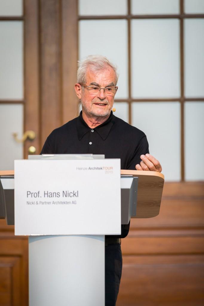 Heinze ArchitekTOUR 2015 in Berlin - Vortrag von Herrn Prof. Nickl