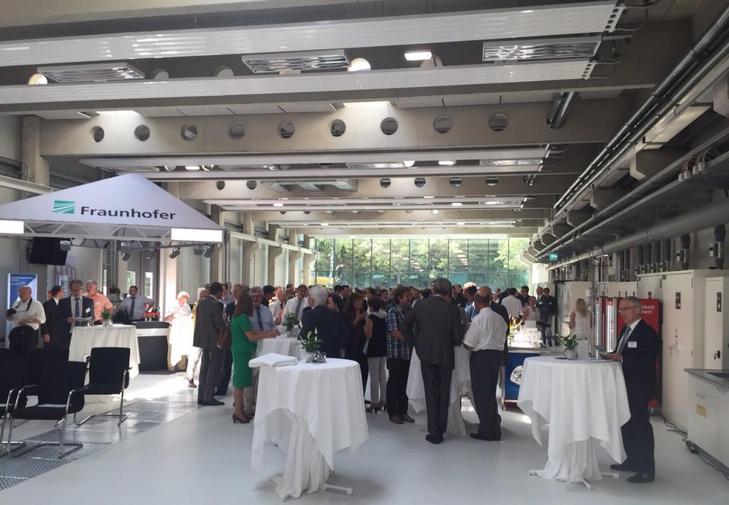 Nickl & Partner Architekten AG - Feierliche Eröffnung des Fraunhofer Institut für Prozessinnovationen IPA in Bayreuth