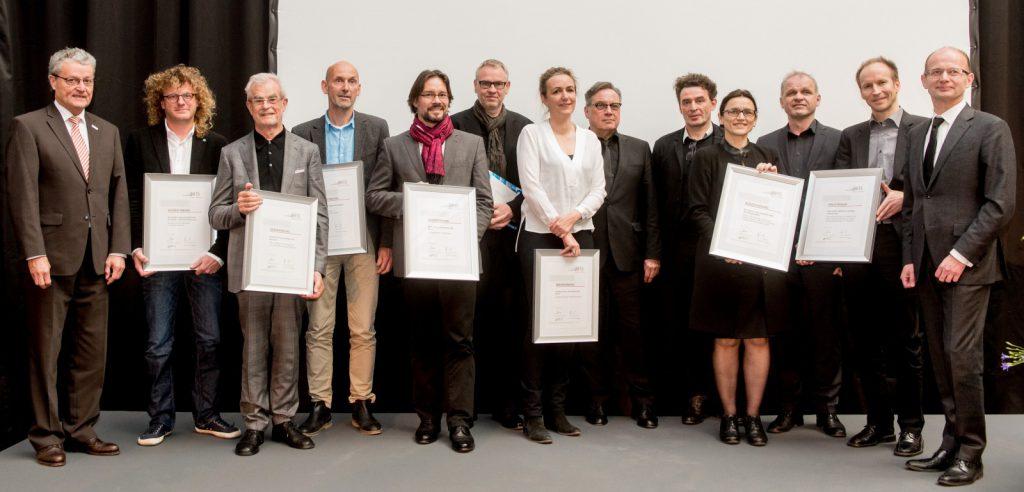 Preisverleihung Europäischer Architekturpreis 2015 Energie + Architktur