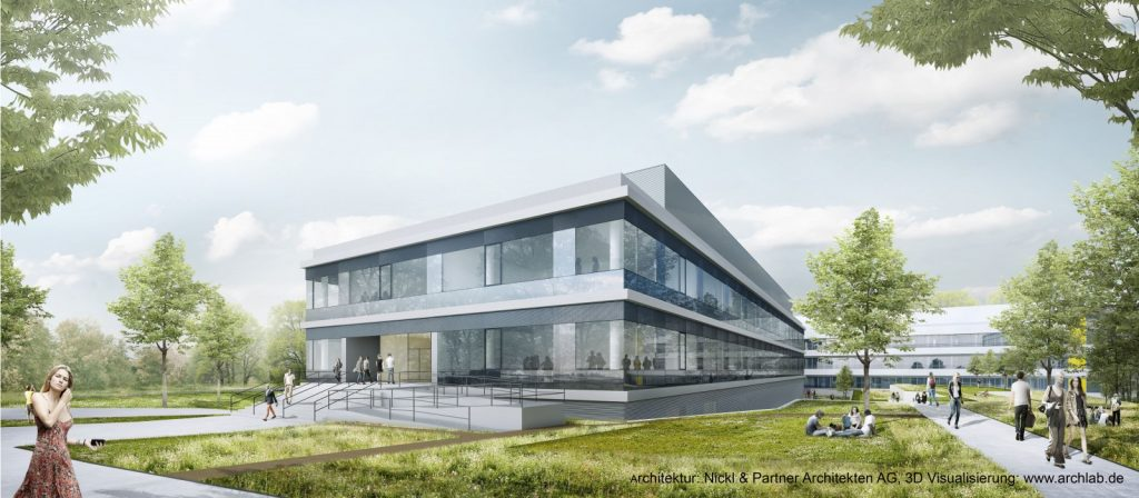 Visualisierung Nickl & Partner Architekten AG