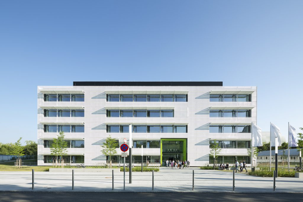 Centrum für Schlaganfall- und Demenzforschung in München, Nickl & Partner Architekten AG