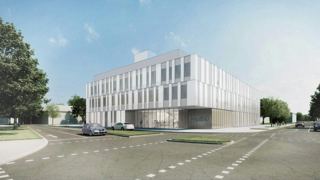 Zukünftiger Neubau der Ostfalia Hochschule, Labor für Fahrzeugtechnik Wolfsburg, Nickl & Partner Architekten AG