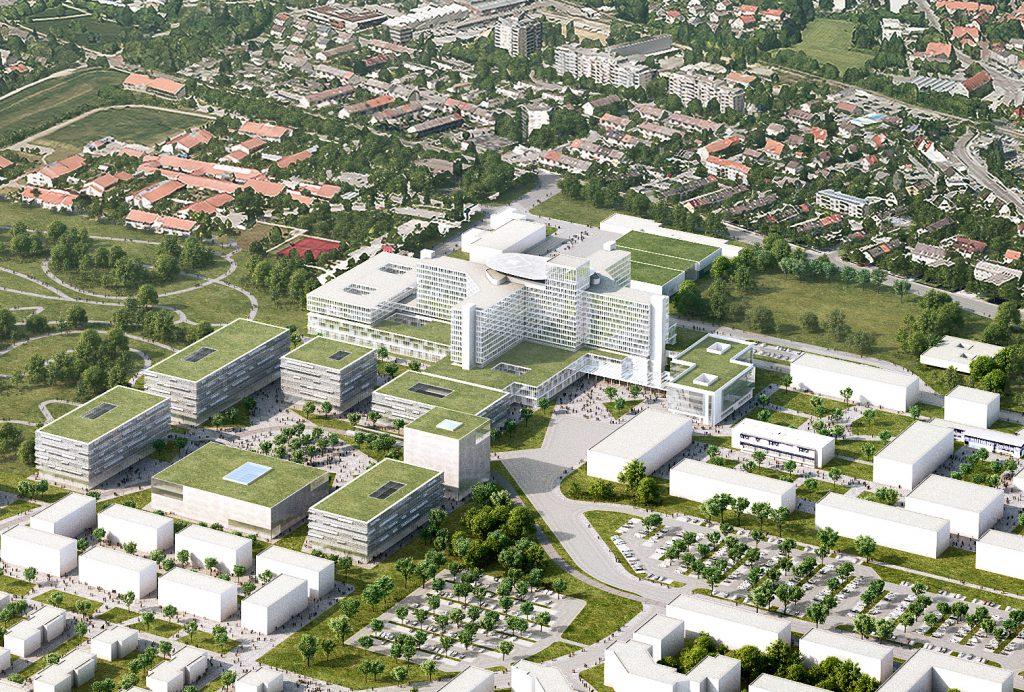 Erweiterung Klinikum Augsburg, Nickl & Partner Architekten AG