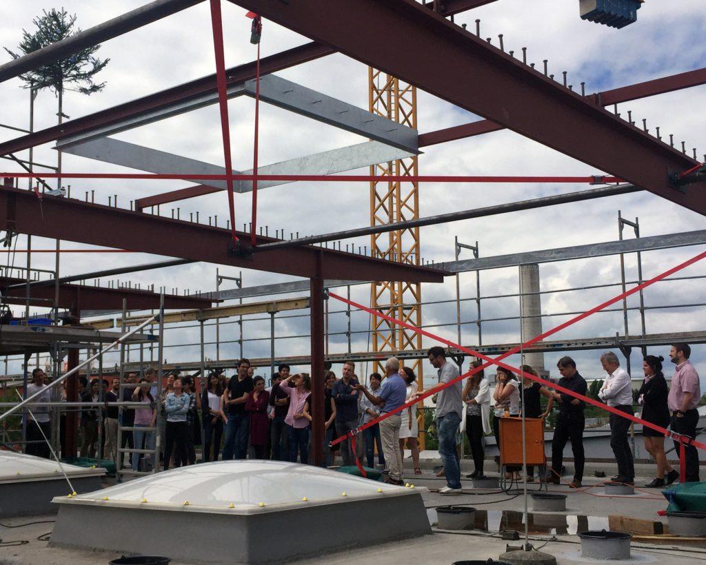 Richtfest bei der Nickl & Partner Architekten AG