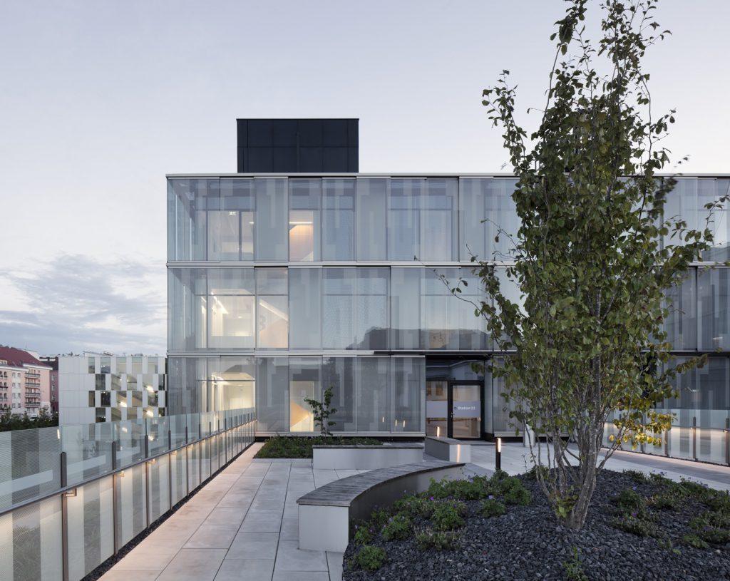 Dachterrasse des Kaiser-Franz-Josef-Spitals, Nickl & Partner Architekten AG