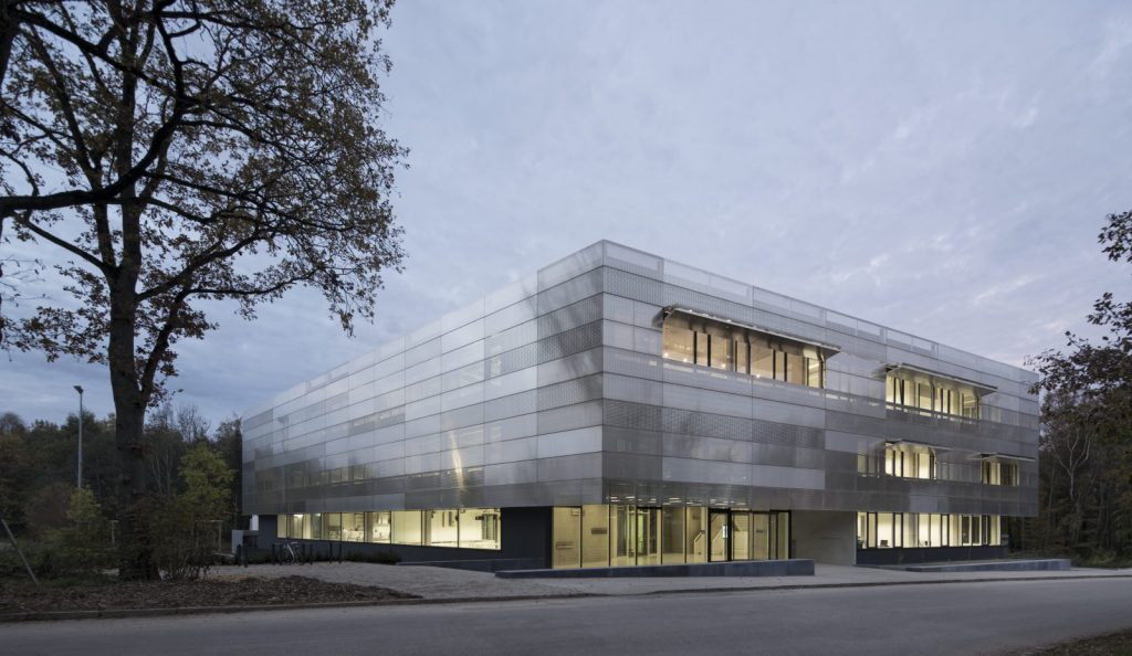 Helmholtz-Institut Ulm, Nickl und Partner Architekten, Photo: W. Huthmacher