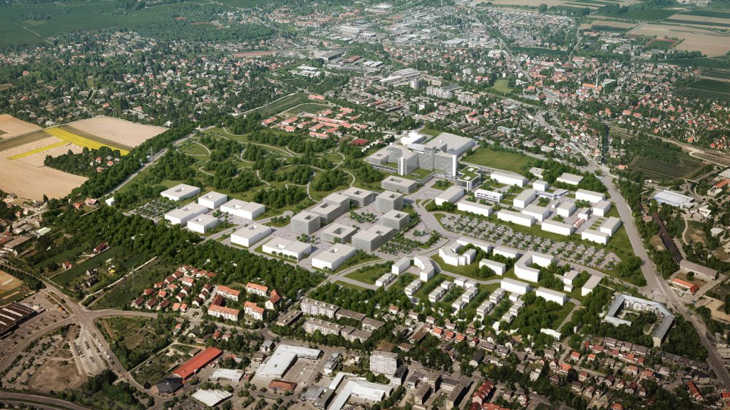 Masterplan der Nickl & Partner Architekten AG