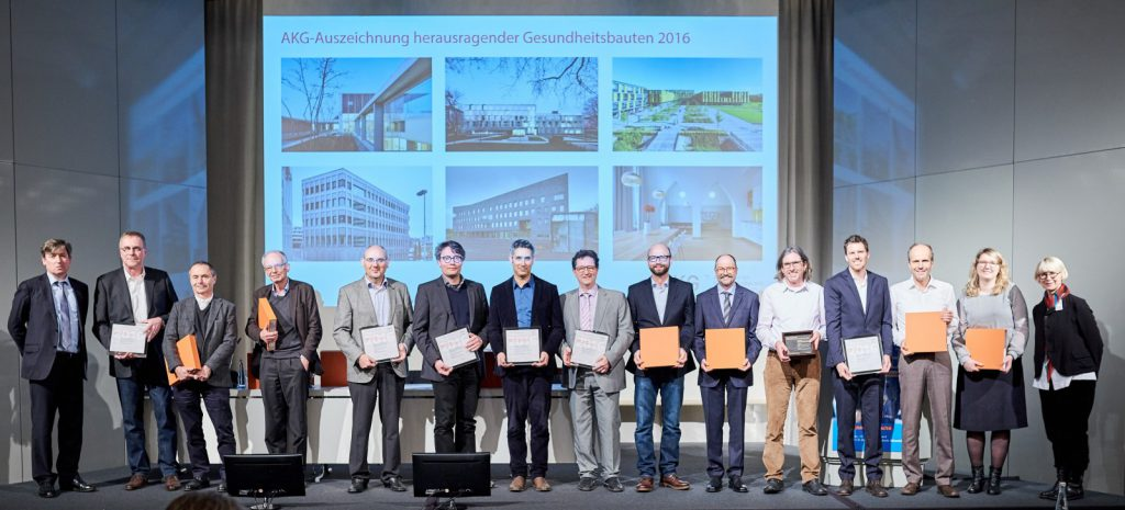 Die Finalisten der AKG Preisverleihung 2016