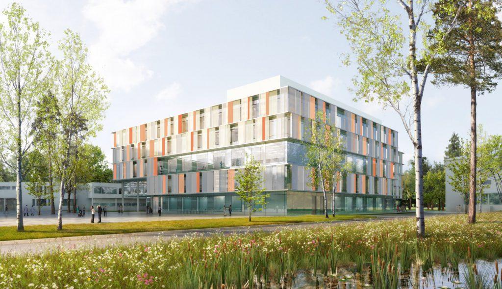 Eltern-Kind-Zentrum des Uniklinikums Bonn, Nickl & Partner Architekten AG