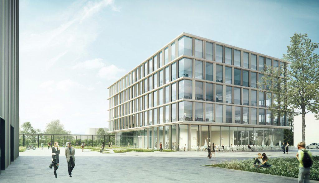 Außenperspektive Nickl & Partner Architekten AG