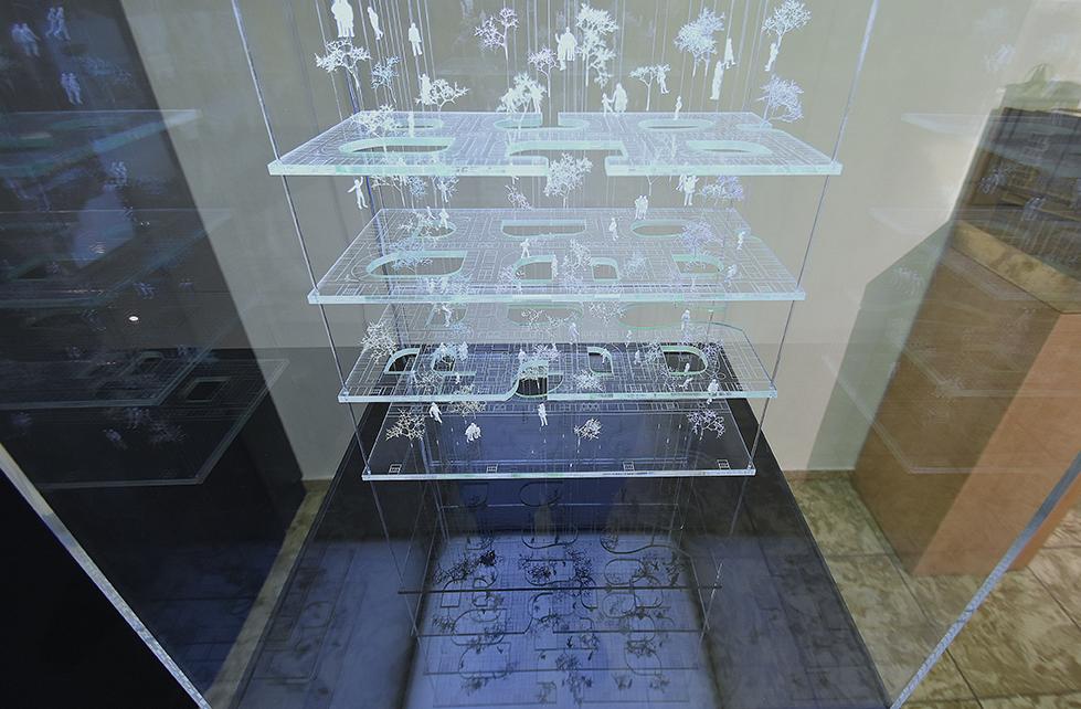 Unser Beitragt stellt ein Konzeptmodell des Neuen Hauner in München dar
