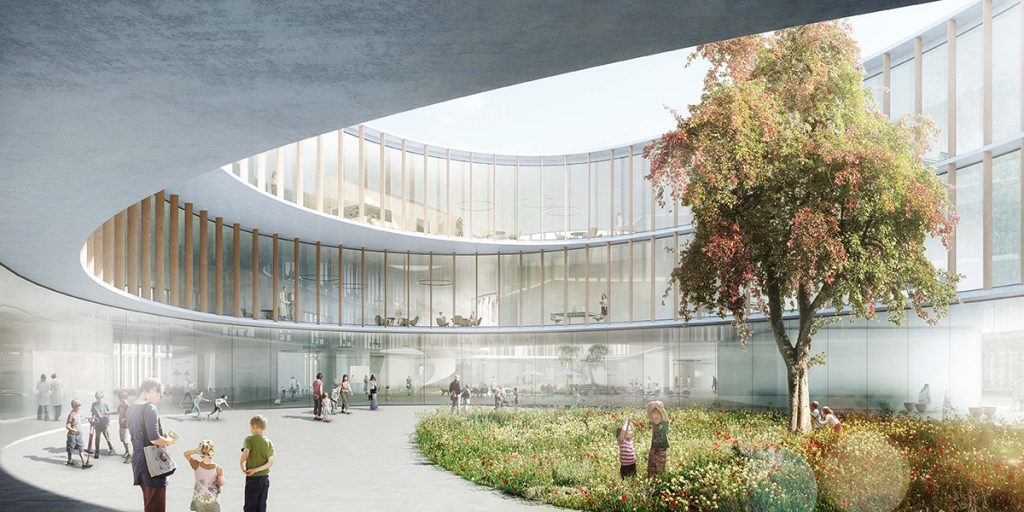 The design of Hauner's Childen's Hospital in Munich received a commendation in the Future Healthcare Design section