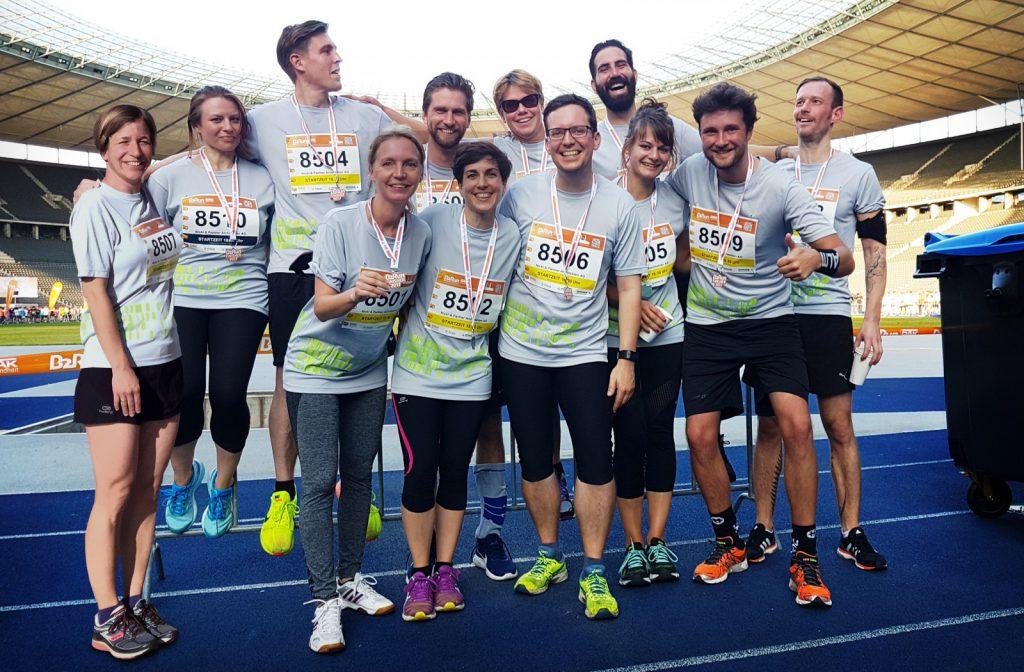 Das Berliner B2Run-Team der Nickl & Partner Architekten AG