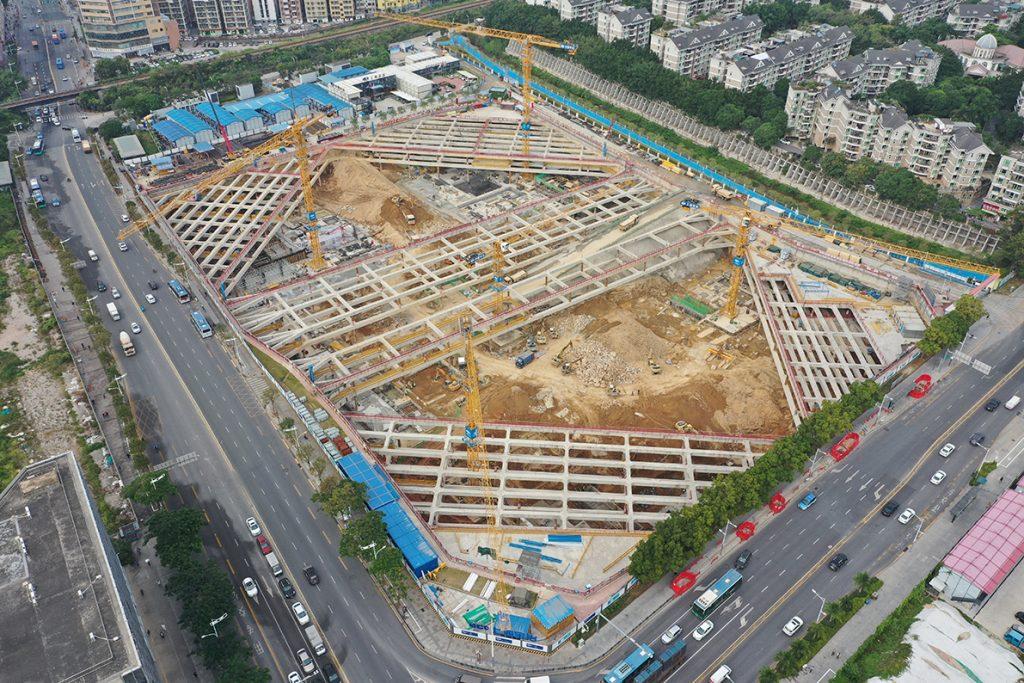 Construction site November 2020