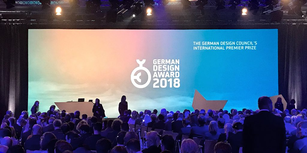 Preisverleihung German Design Award 2018