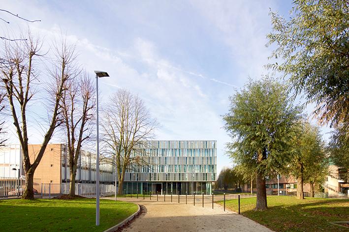 Laboratory and research building HUB de l'énergie in Amiens, Nickl & Partner Architekten AG