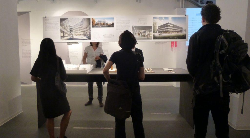Exhibition at the AIT ArchitekturSalon Hamburg