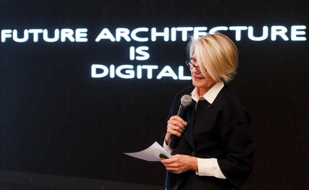 Prof. Christine Nickl-Weller bei der LSR Group in Moskau, Foto: LSR Group
