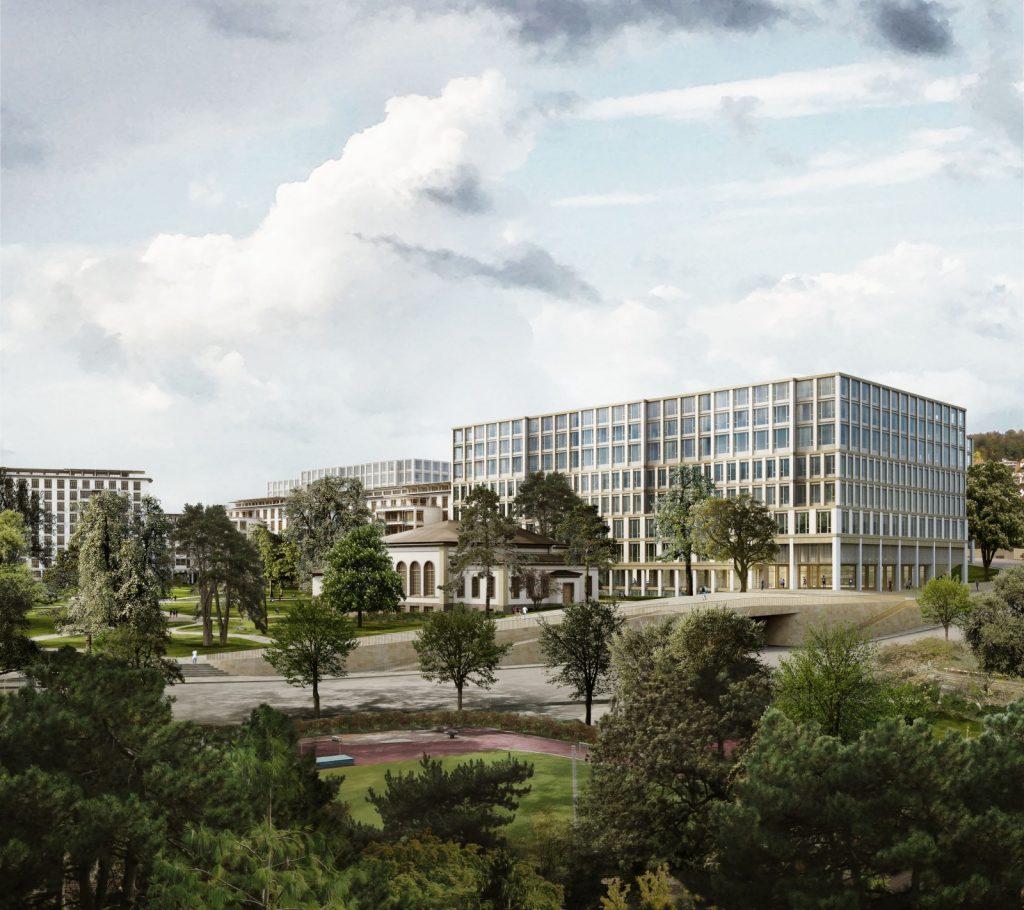Aussenperspektive, Nickl & Partner Architekten Schweiz AG