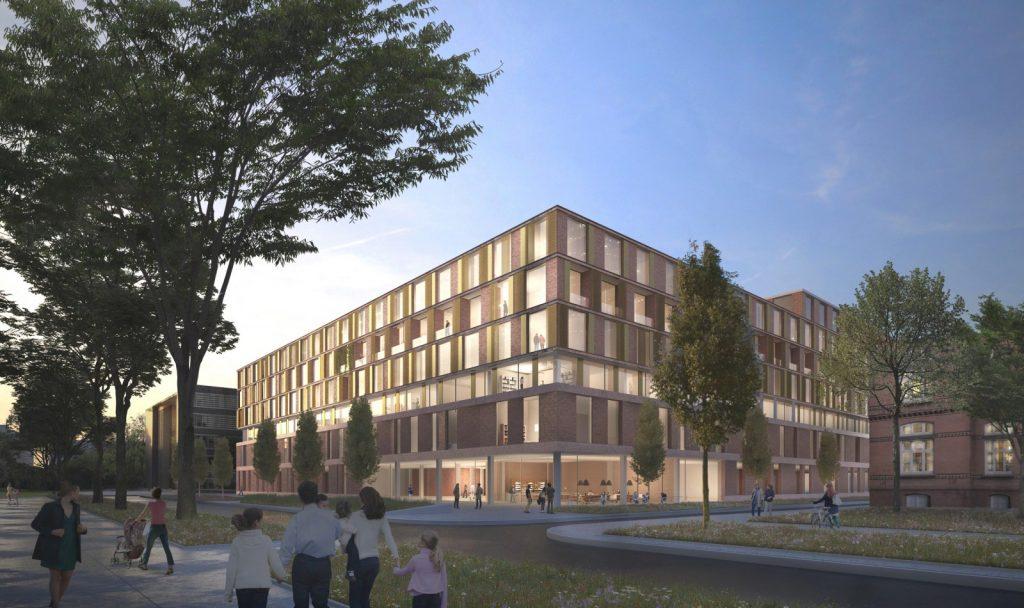 Zukünftiges Universitäres Herzzentrum Hamburg, Entwurf Nickl & Partner Architekten