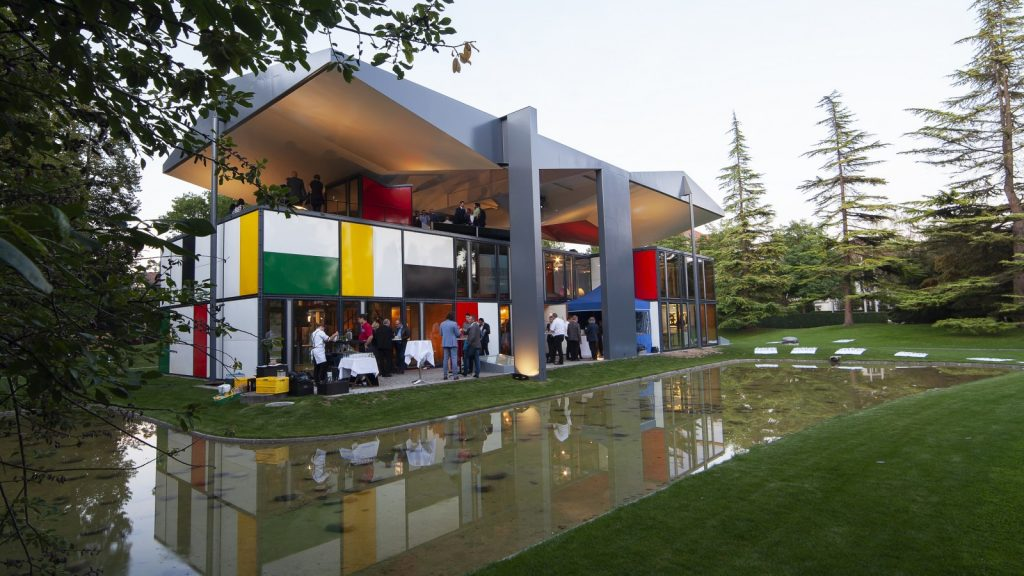 Die 3. Jubiläumsfeier im Pavillon le Corbusier in Zürich