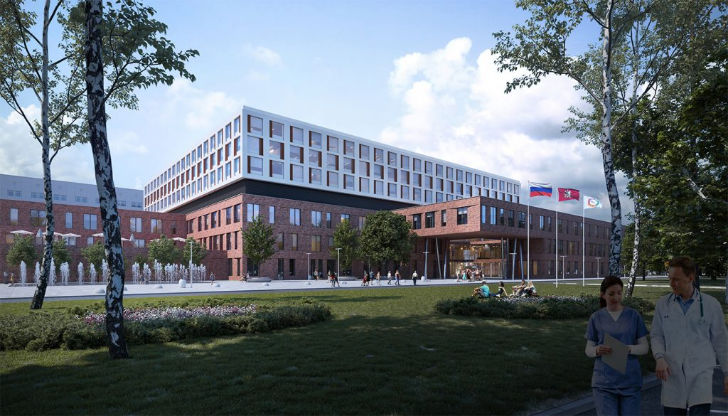 Visualisation du MKNC de Moscou, Nickl & Partner Architekten
