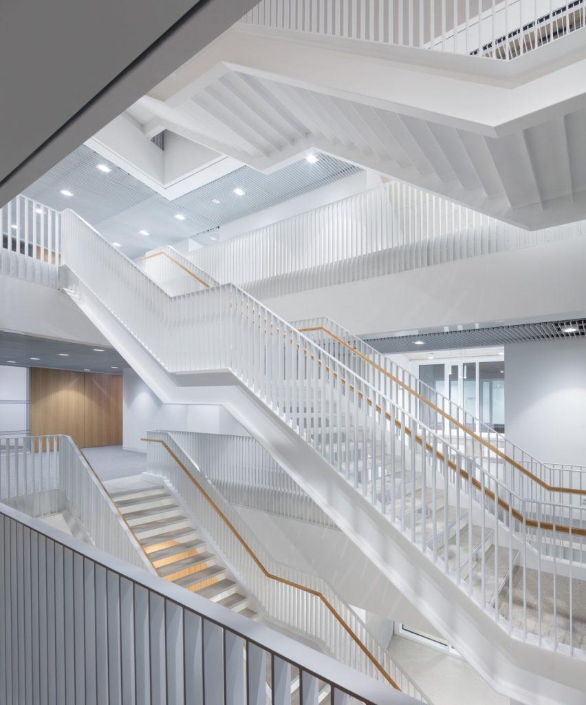 Neubau des Forschungsbaus HARBOR, Nickl & Partner Architekten