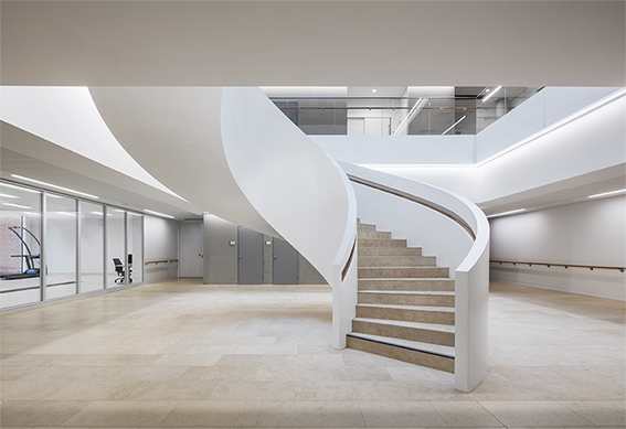 New rehabilitation clinic at Unfallkrankenhaus Berlin, Nickl & Partner Architekten