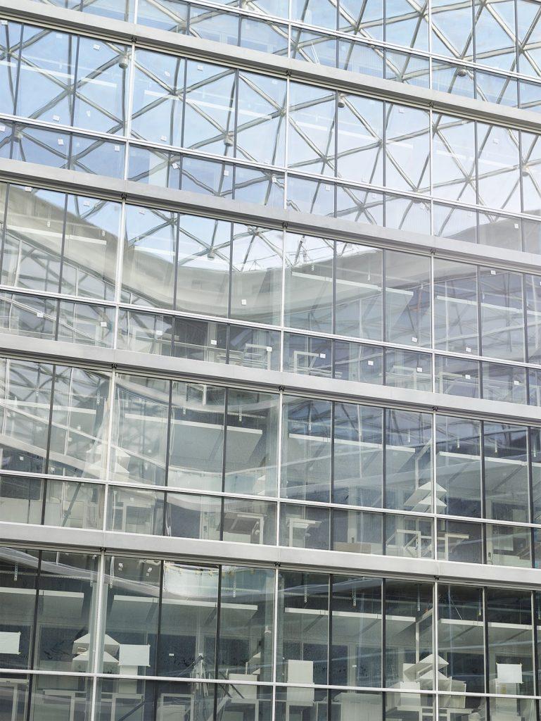 Foto: Achim Birnbaum, Baustelle Juni 2021, Labor- und Forschungsgebäude D-BSSE, ETH Zürich, Nickl & Partner Architekten