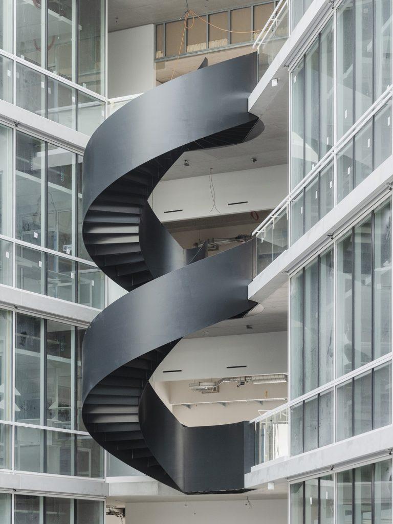 Foto: Achim Birnbaum, Baustelle März 2021, Labor- und Forschungsgebäude D-BSSE, ETH Zürich, Nickl & Partner Architekten