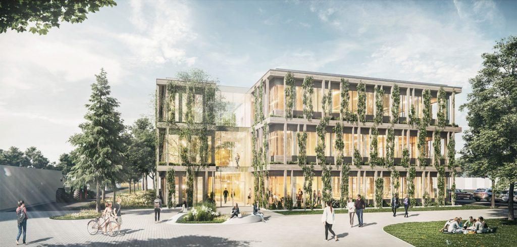 Neubau eines Laborgebäudes am Julius-Kühn-Institut in Berlin, Nickl & Partner Architekten