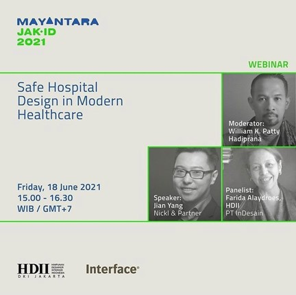 """Jian Yang, Partner und General Manager Nickl & Partner Beijing, nahm an einer Präsentation des Unterforums zum Thema """"Safe Hospital Design in Modern Healthcare"""" teil."""