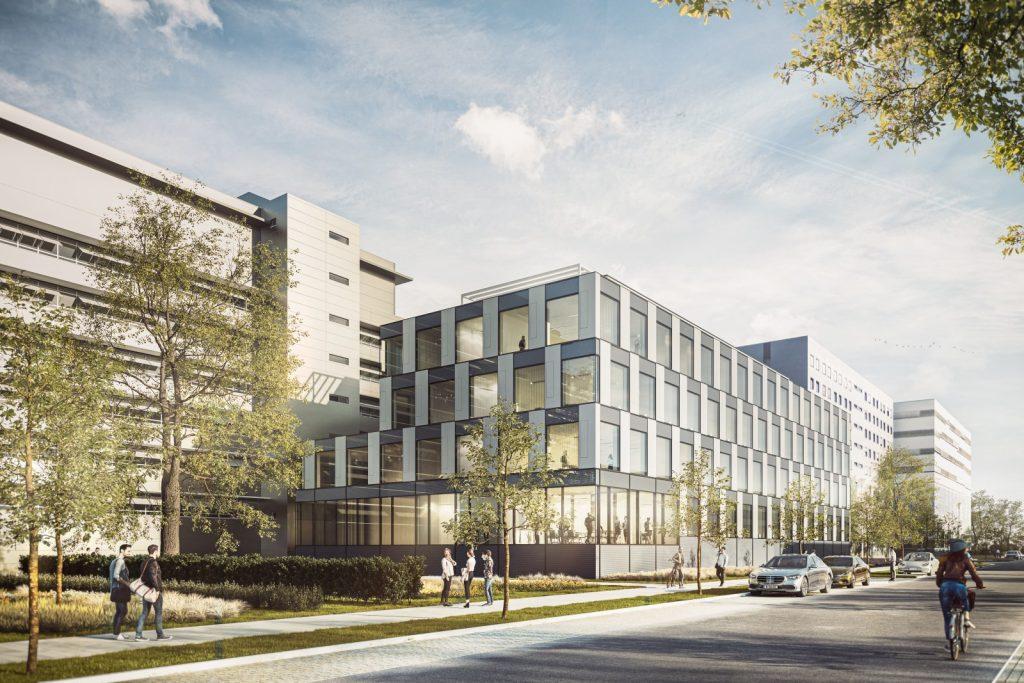 Neubau eines Labor- und Bürogebäudes für das Deutsche Zentrum für Luft- und Raumfahrt, Nickl & Partner Architekten